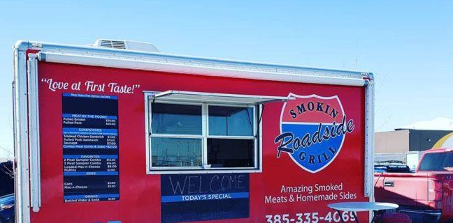 Smokin Roadside Grill food truck menu