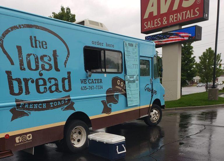The Lost Bread food truck menu