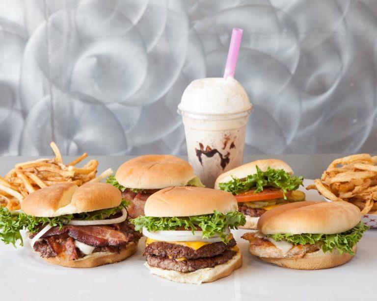 Tonyburgers menu