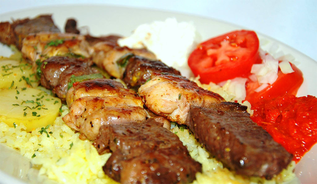 Shish Kebob - Old Bridge Cafe