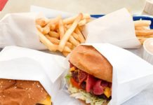 Atlantis Burgers - pastrami burger (Foody Fellowship)