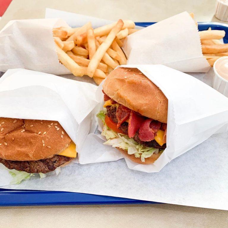 Atlantis Burgers menu