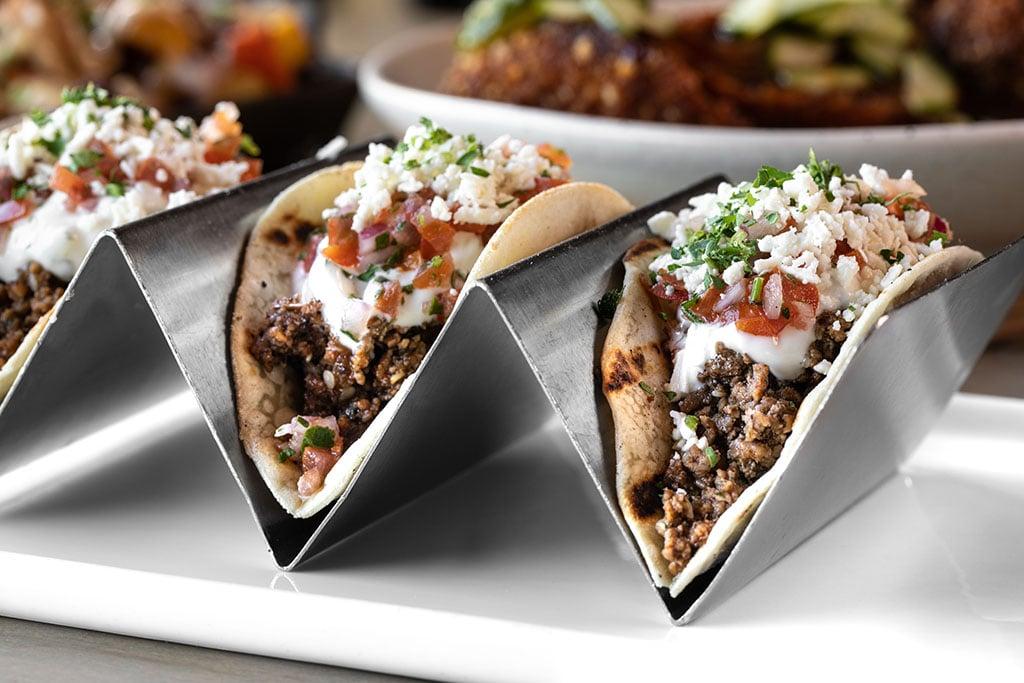 Carson Kitchen - gyro tacos