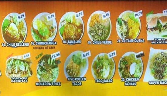 Gual Bertos menu - combo plates 1