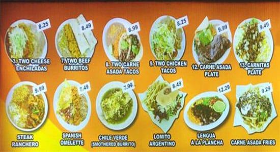 Gual Bertos menu - combo plates 2