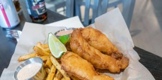 Hopkins Brewing Company - fish and chips