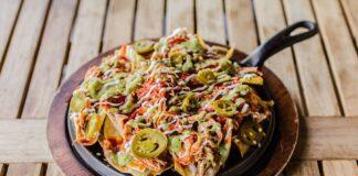 Nacho Daddy - enchilada nachos