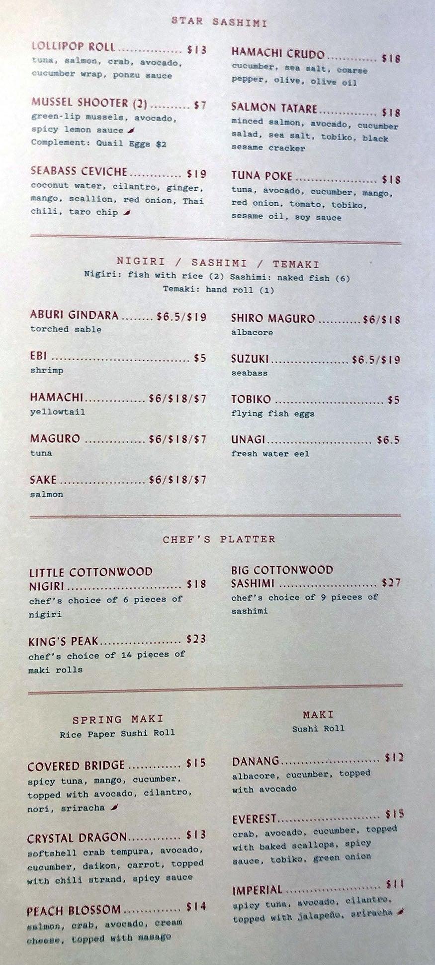 SAOLA - sushi