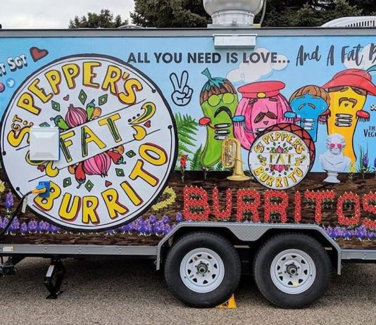 Sgt. Pepper's FAT Burrito food truck (Sgt Peppers)