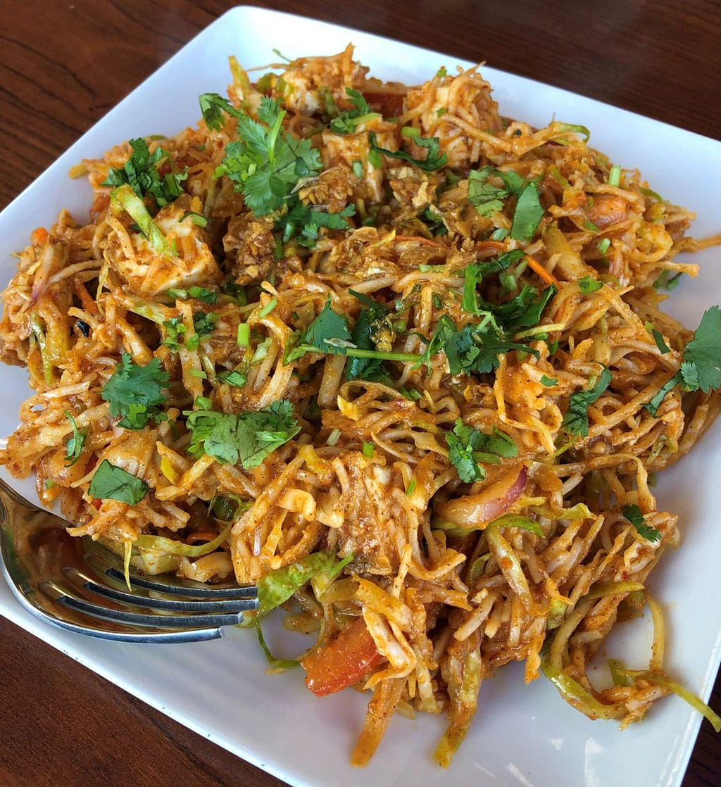 Wann Jale - Yangoon noodle salad (Ya Burned It)