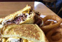 Amber Restaurant - Monte Cristo sandwich