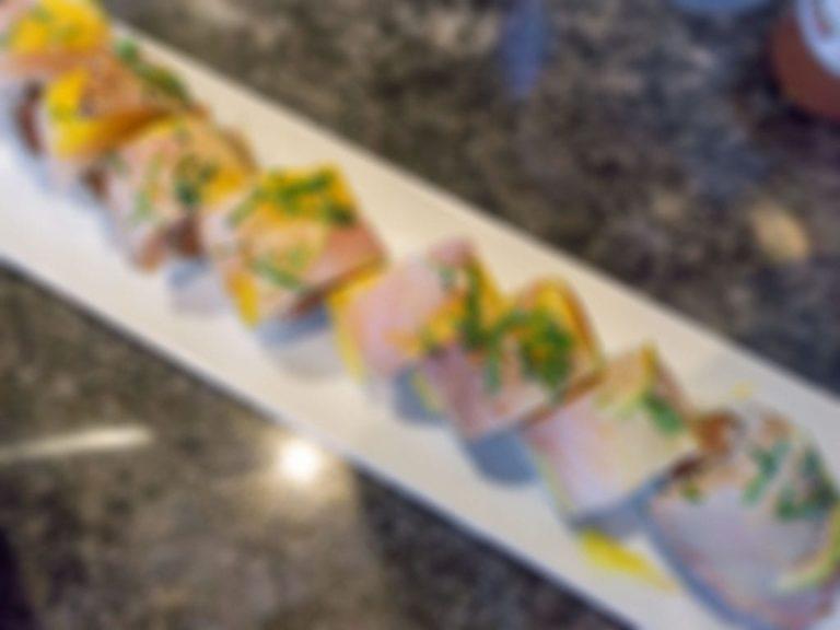 Hi Sushi Japanese Restaurant menu