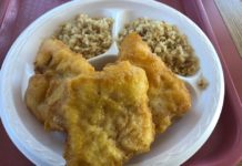 Lee's Fish And Rice menu - fried rice and fish