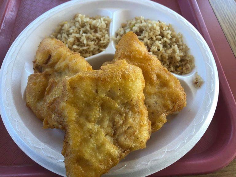 Lee's Fish And Rice menu