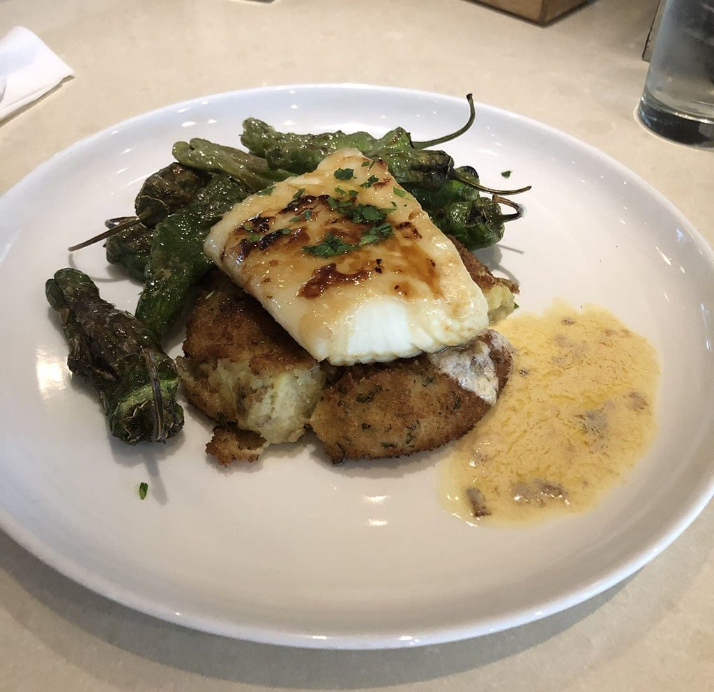 Thustle And Thyme - miso halibut