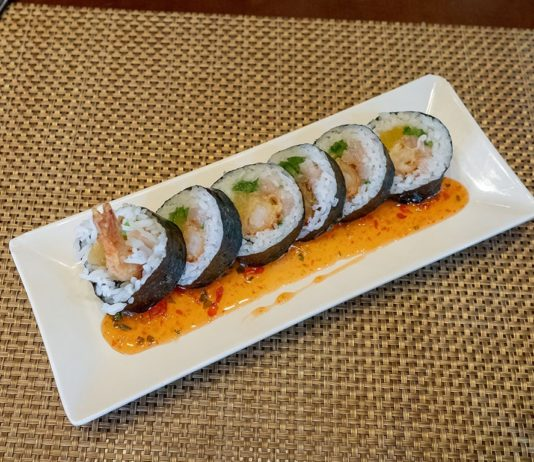 Yellowfinn - sushi roll