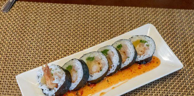 Yellowfinn - sushi roll