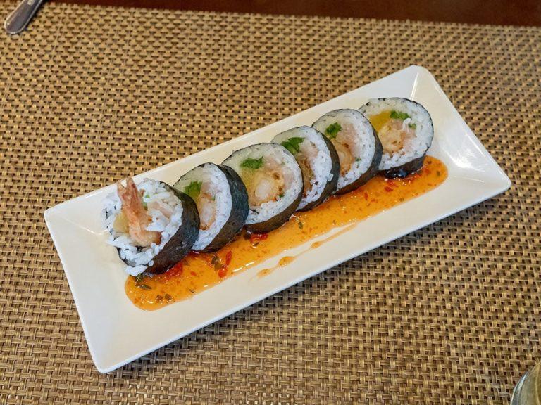 Yellowfinn Grill And Sushi Bar menu