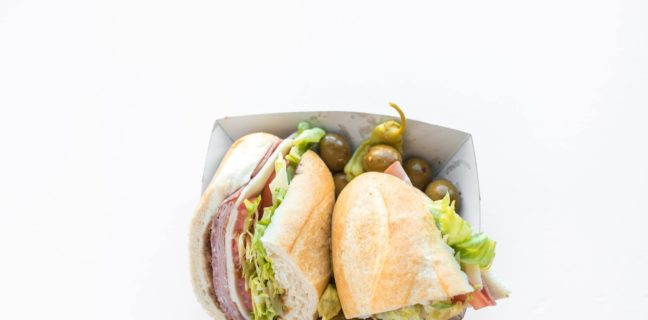 Deli sandwich (Caputo's)