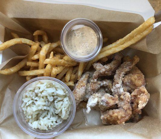 Bok Bok Chicken Utah - snow chicken