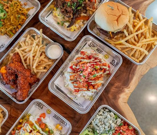 Food at SkinnyFats in Salt Lake City