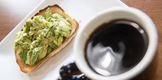 Maud's Cafe - coffee and avocado toast