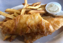 Little Taste Of Britain - fish and chips