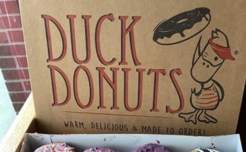 Duck Donuts - box of donuts