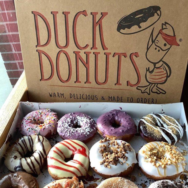 Duck Donuts menu