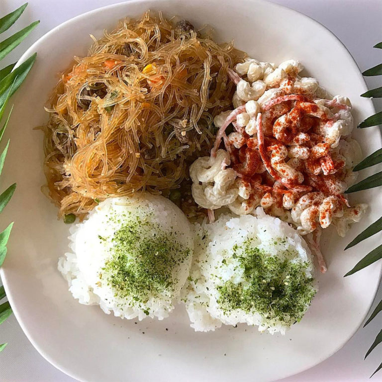 Leila's Luau menu