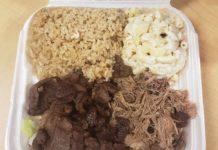 Lolo Hawaiian BBQ menu - Kalua Pork and BBQ Beef (Redneck Food Rambles)