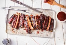 Real Famous BBQ menu - ribs