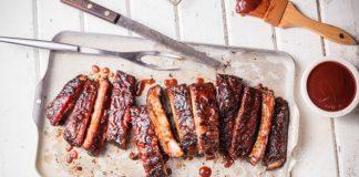 Real Famous BBQ menu - ribs