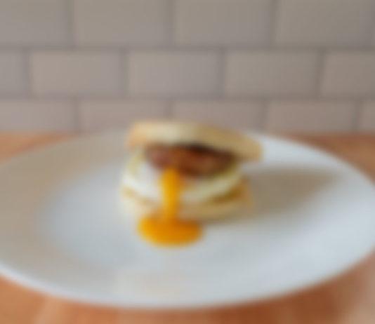 Generic breakfast sandwich