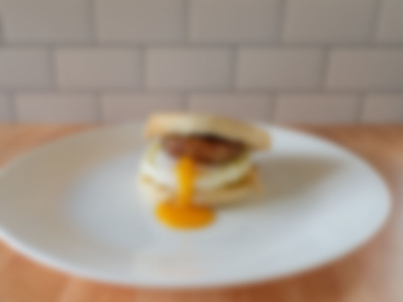 Generic breakfast sandwich