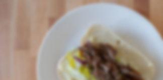 Generic sliced steak sandwich
