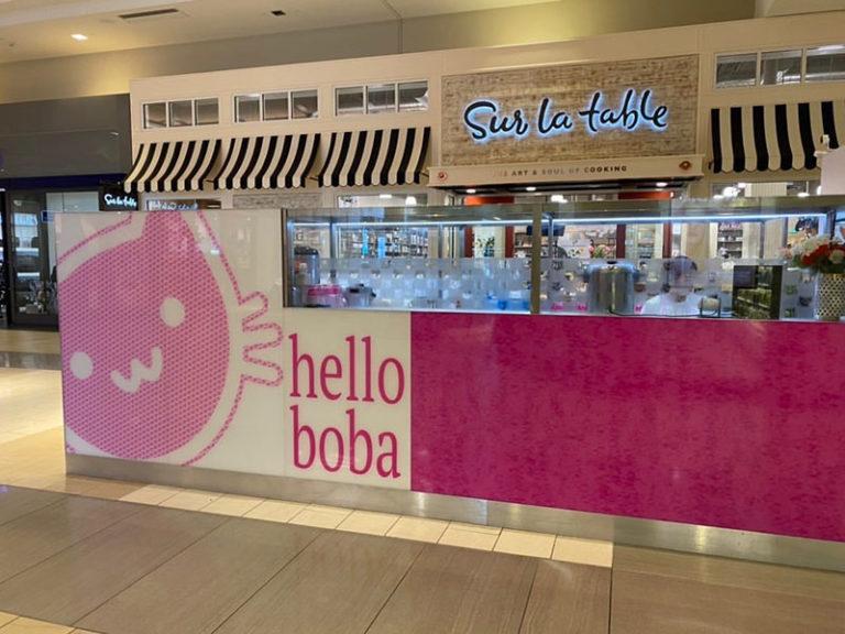Hello Boba menu