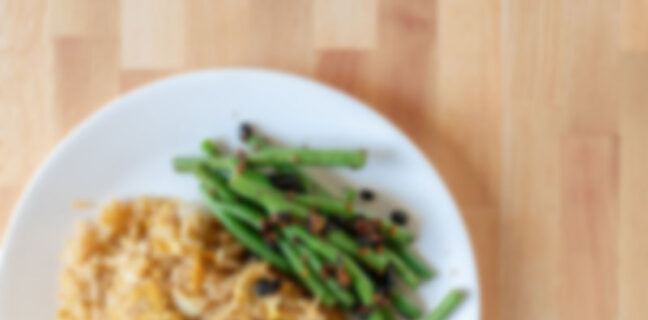 Generic rice and veggies