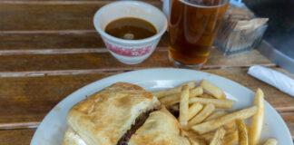 Silver Fork Lodge sandwich
