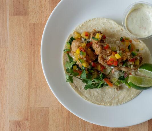Fish taco - Jamaicas Kitchen