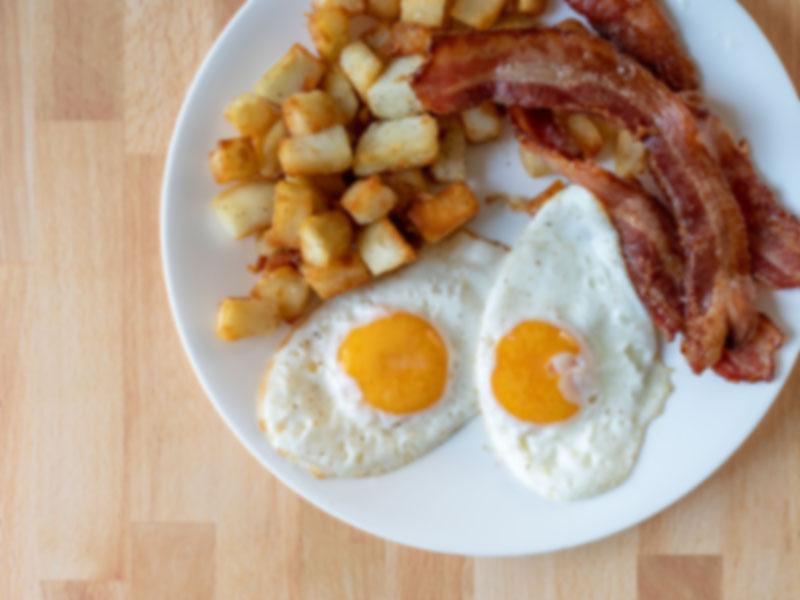 Generic breakfast plate