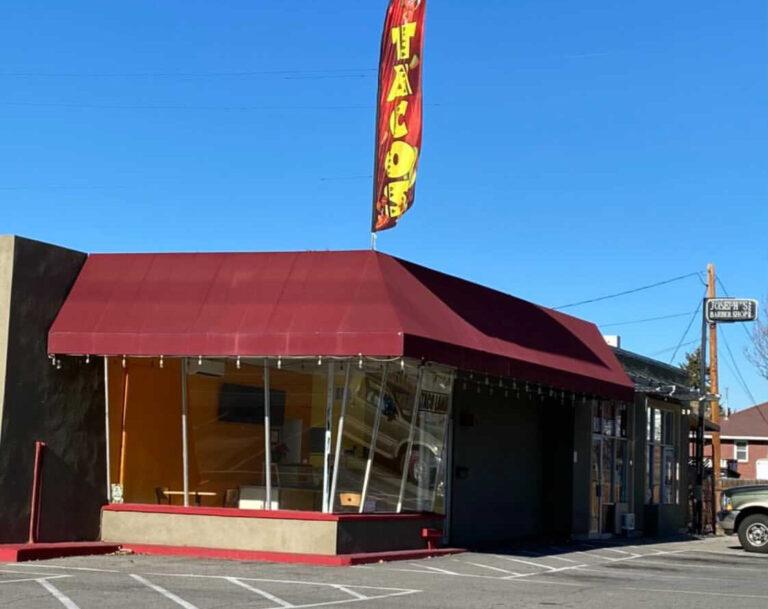 Taco Land menu