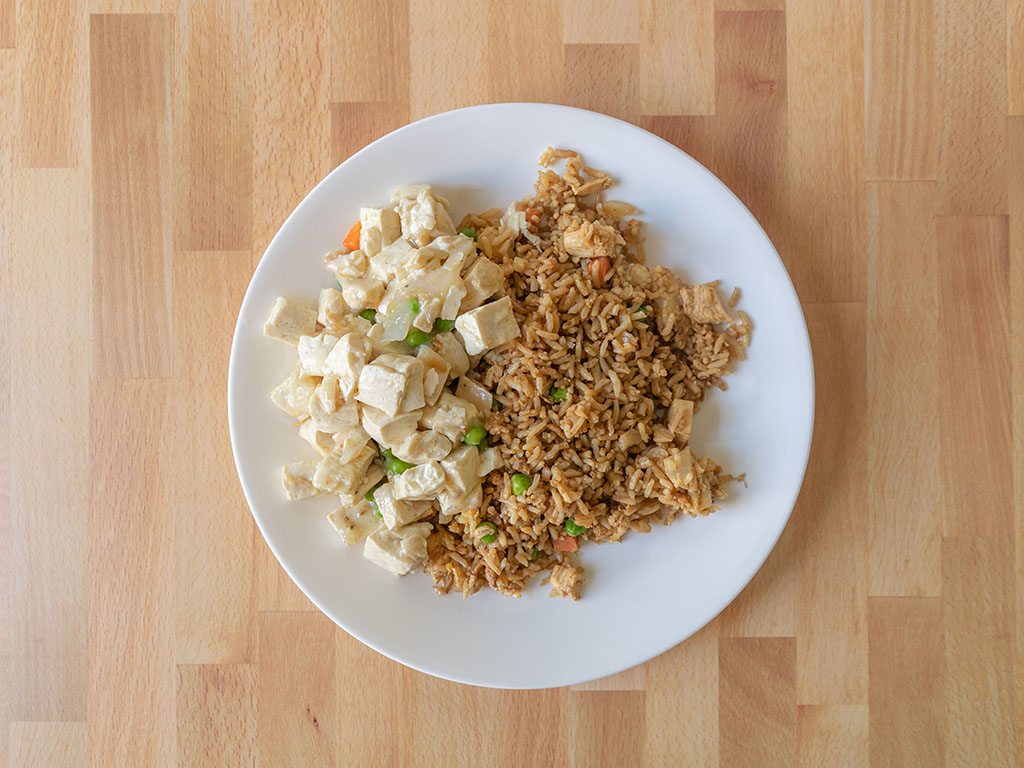 Cafe Anh Hong - fried rice and tofu