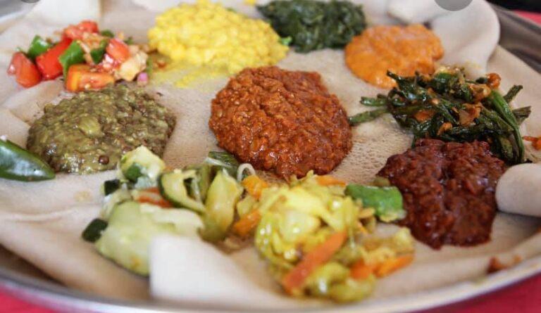 Oromian Restaurant menu