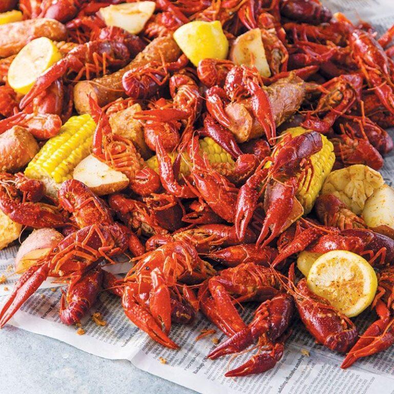 Cajun Boil Seafood Restaurant menu