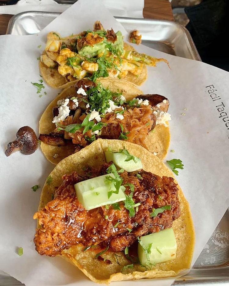 Facil Taqueria - tacos