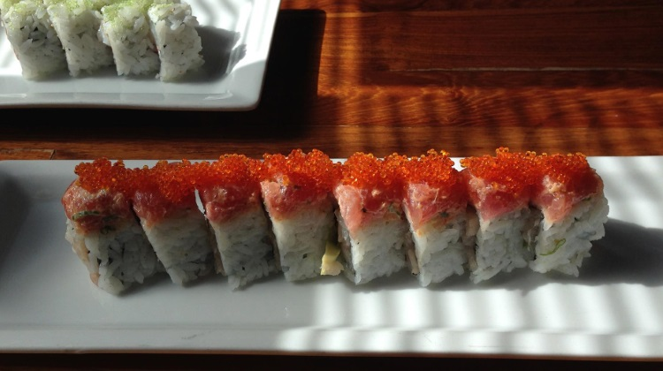 Takashi maki sushi. Credit, Heather L. King