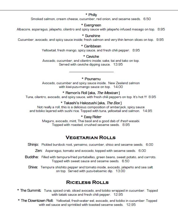 takashi menu 2016 specialty rolls 2