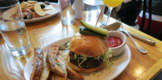 Copper Onion - brunch burger