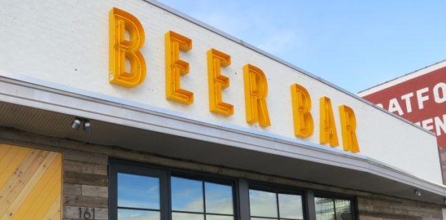 beer bar exterior